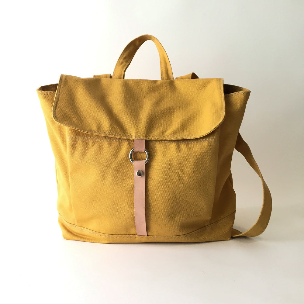 TANYA 102 Backpack/ MUSTARD YELLOW