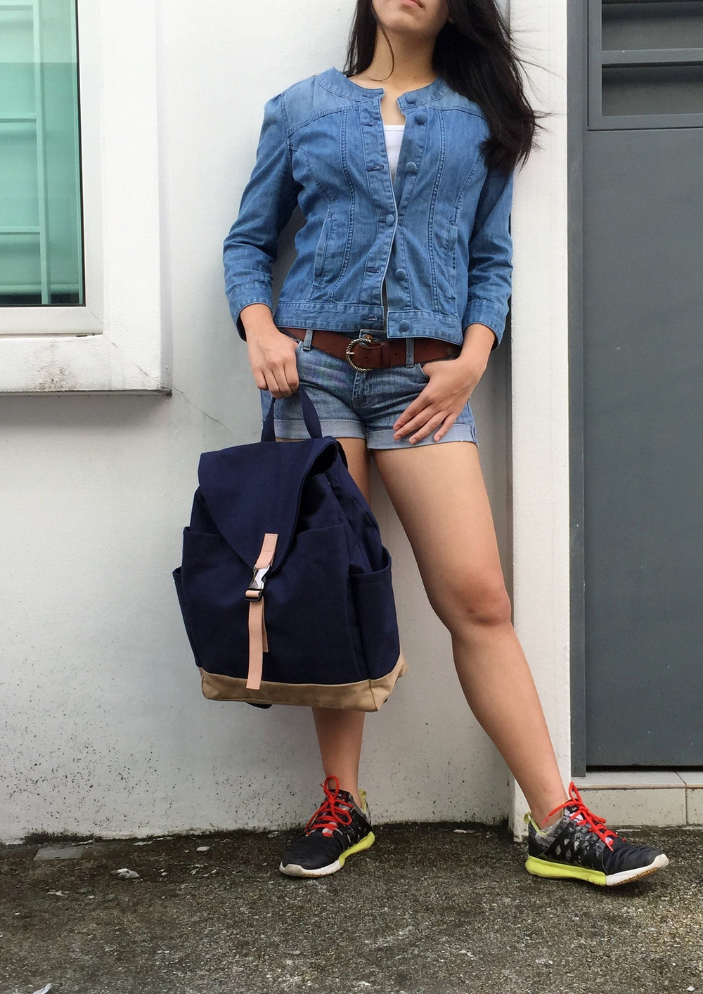 MARKEN 108 Backpack/ NAVY