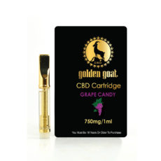 Golden Goat CBD Cart