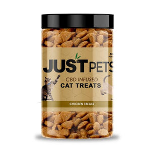 Just Pet CBD Infused Cat Treats Chicken Treats