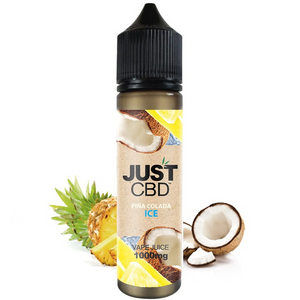 Just CBD Vape Juice Pina Colada