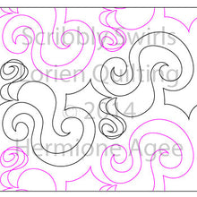 Load image into Gallery viewer, Scribbly Swirls