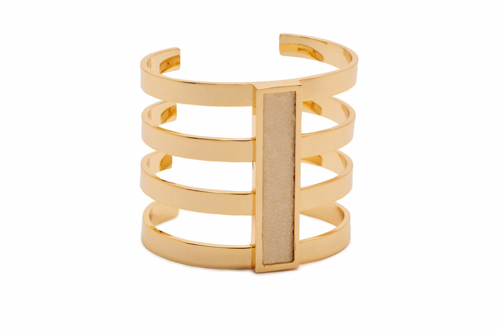 Charmed Circle Cage Cuff
