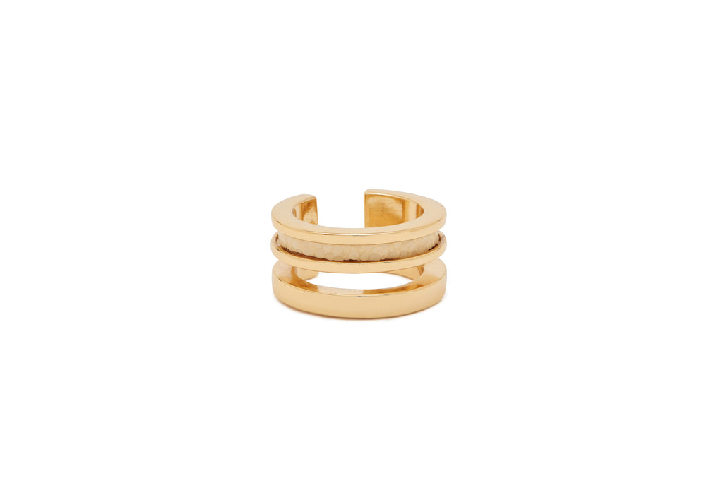 Charmed Circle Double Ring