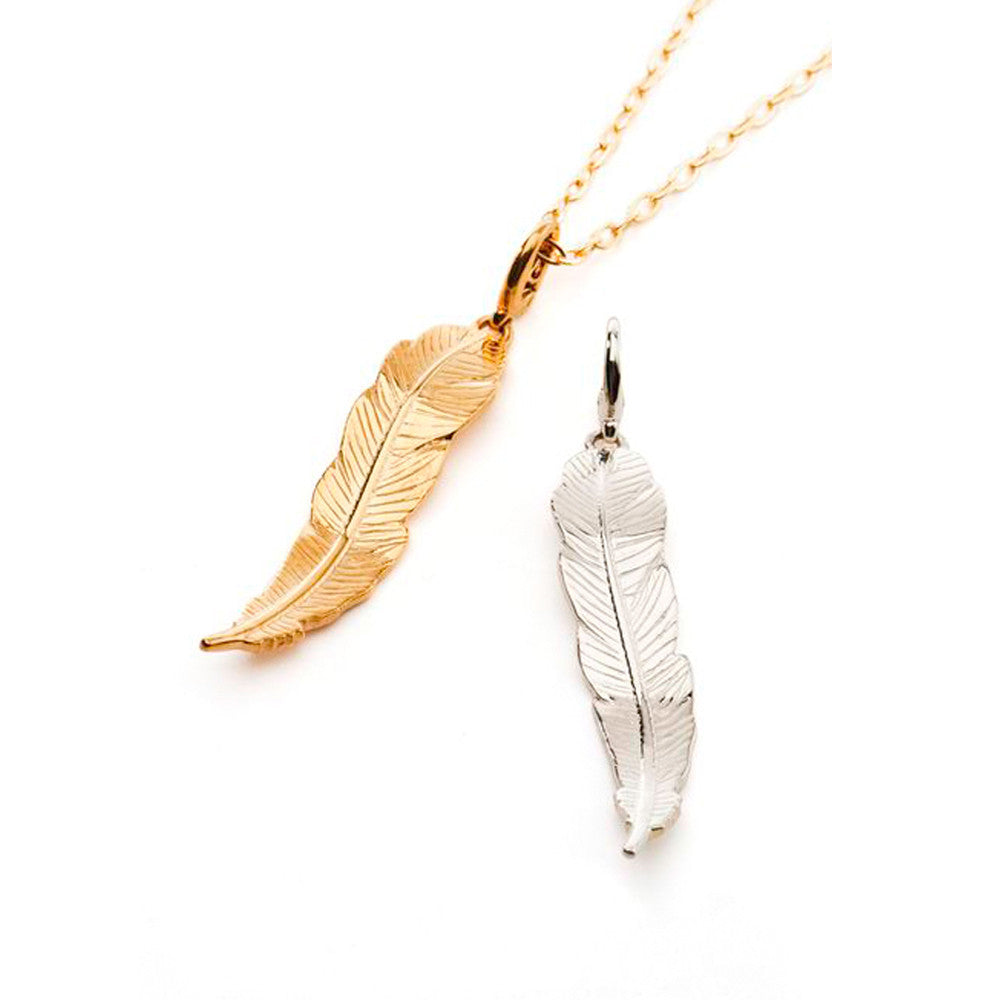 Feather Charm - Charmed Circle