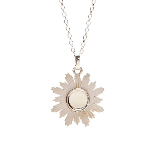 Mini Sunburst Mirror Charm