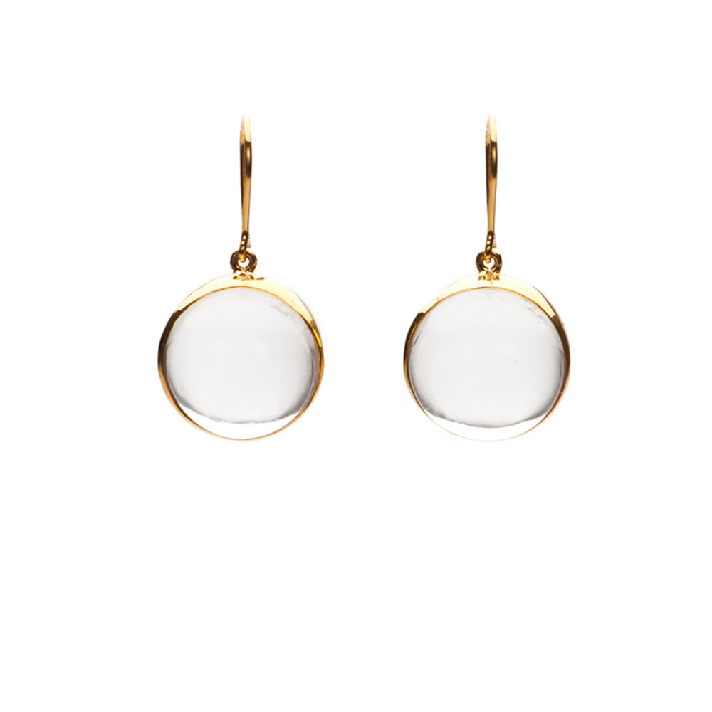 17mm Cabachon Earrings