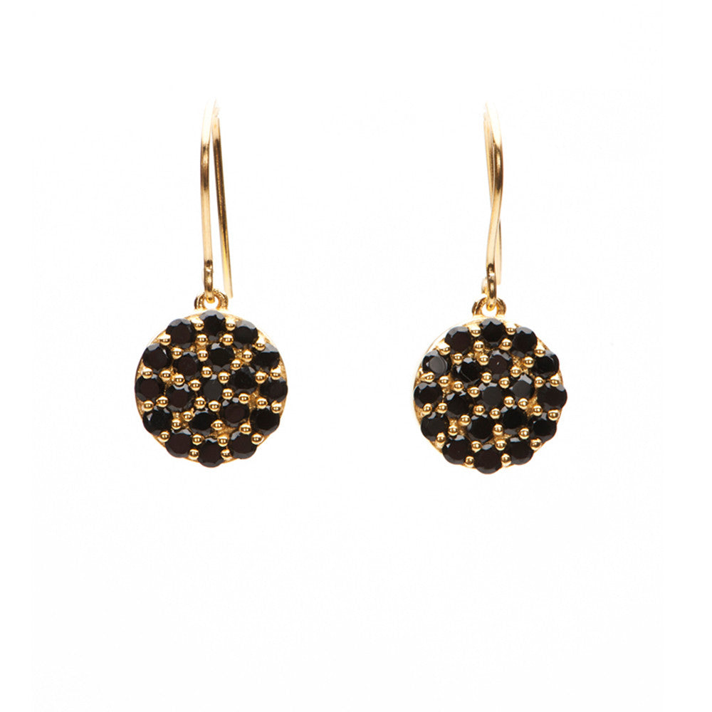 Mini Disc Earrings