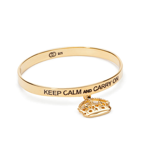 Keep Calm Bangle