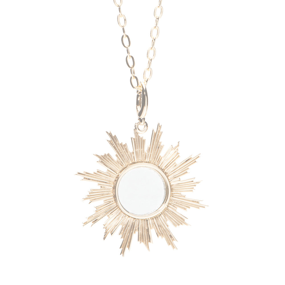 Sunburst Mirror Charm - Charmed Circle