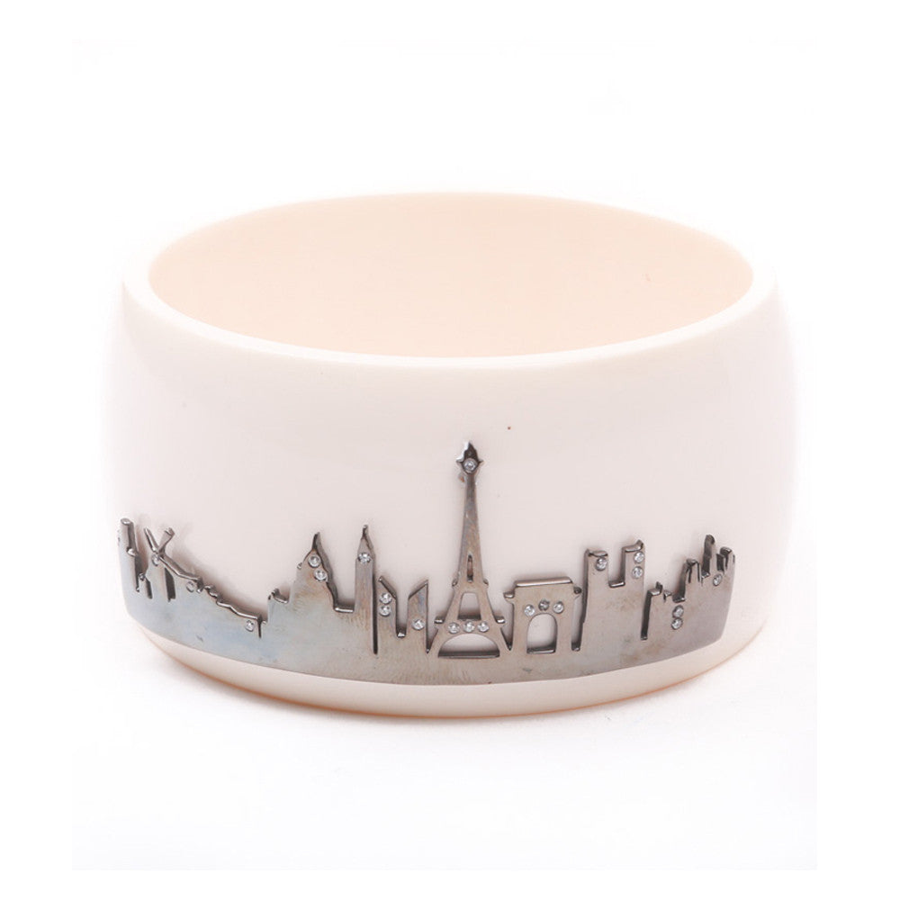 Paris Skyline Cuff