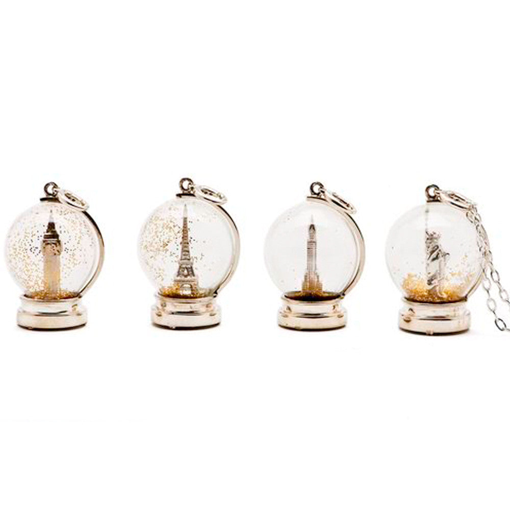 Snow Globe Pendants - Charmed Circle