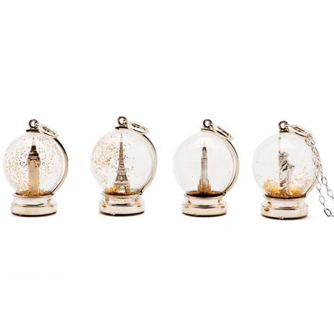Snow Globe Pendants