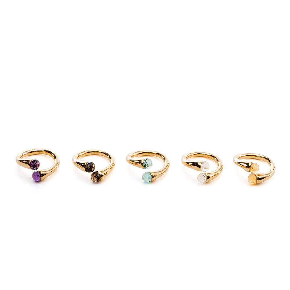 Color Drop Ring - Charmed Circle