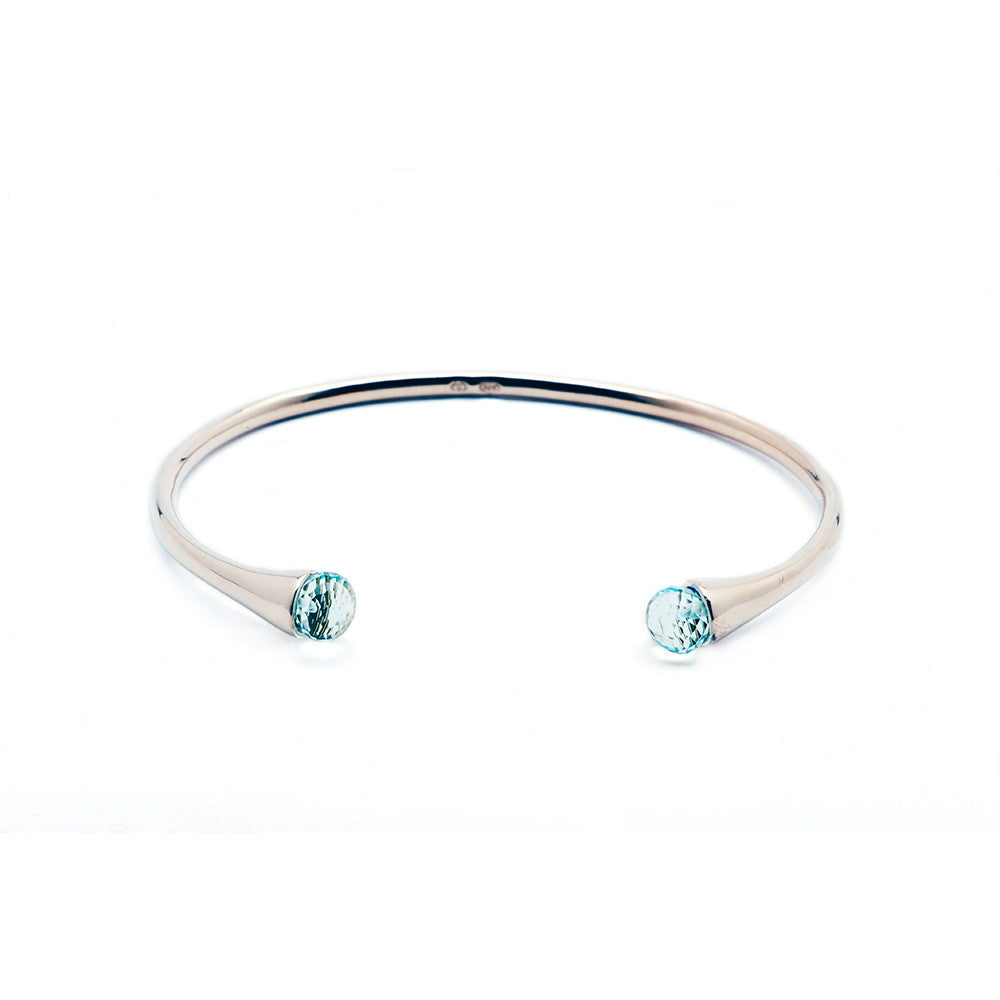 Load image into Gallery viewer, Color Drop Bangle - Charmed Circle