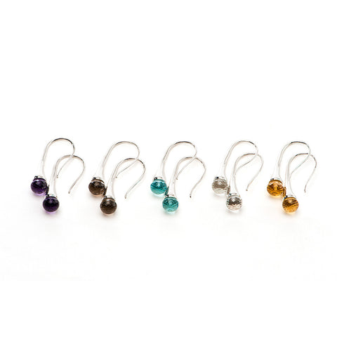 Color Drop Earrings - Charmed Circle