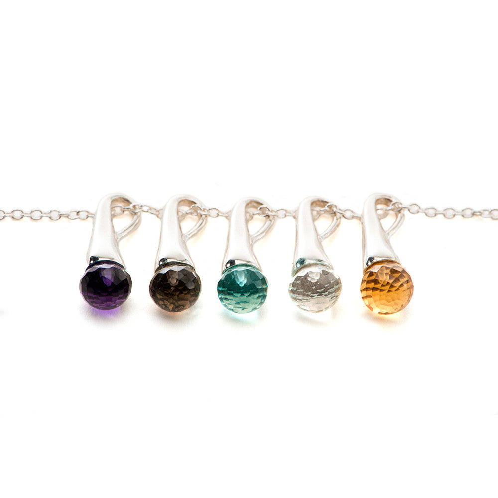 Color Drop Pendants - Charmed Circle