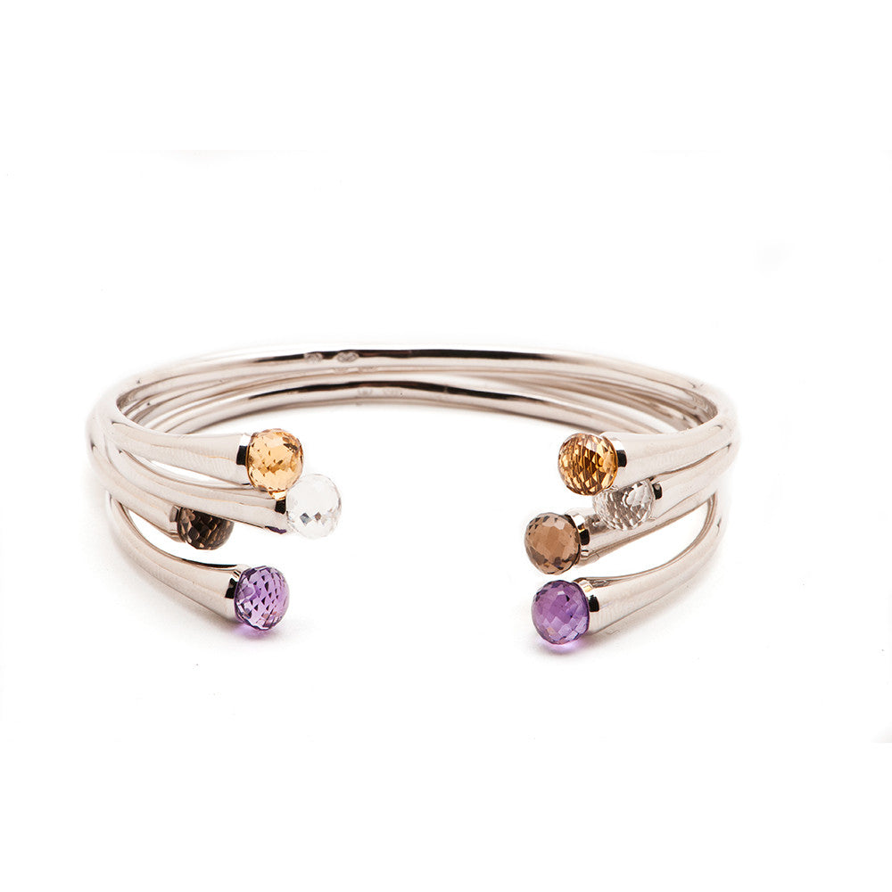 Color Drop Bangle - Charmed Circle