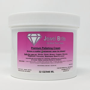 polishing cream tarnish remover jewel brite 32 oz
