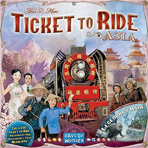 Ticket To Ride: Map Collection Volume 1 - Asia