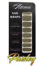Load image into Gallery viewer, Paisley - Nail Wraps