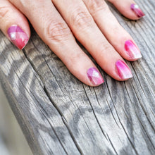 Load image into Gallery viewer, Pink Diamond Nail Wraps