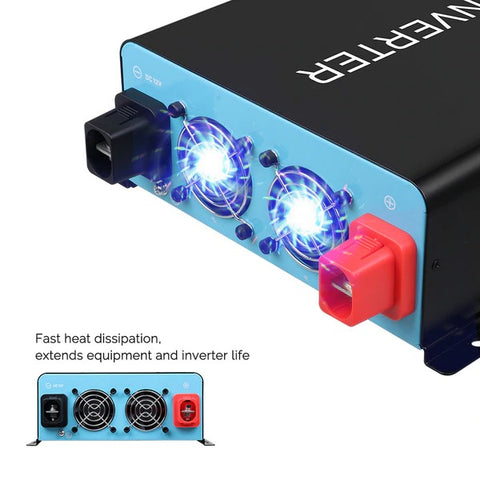Renogy 2000W 12V Pure Sine Inverter (New Model)