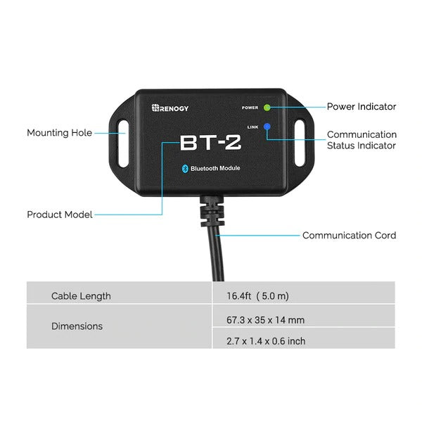 Renogy BT-2 Bluetooth Module