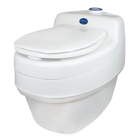 Separett Villa 9215 AC/DC Composting & Urine Diverting Toilet