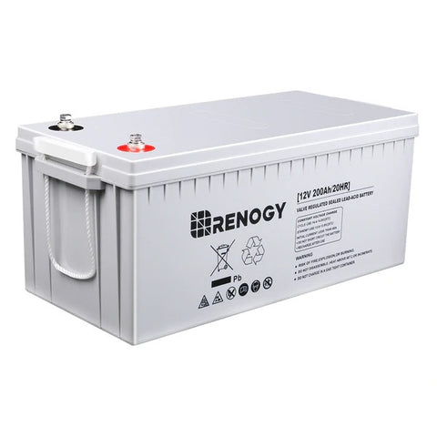 Renogy Deep Cycle AGM Battery 12V 200Ah