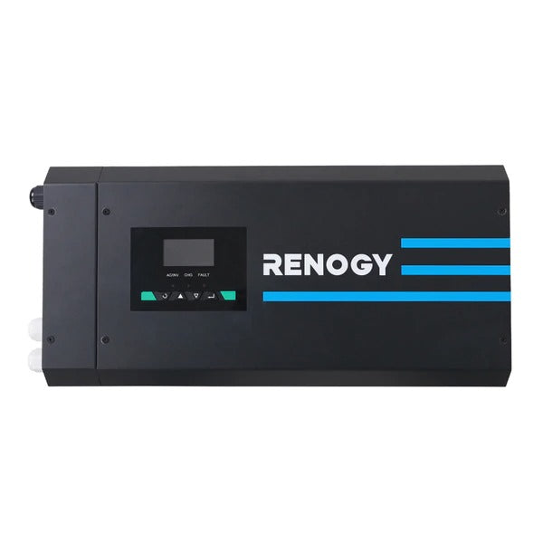 Renogy 3000W 12V Pure Sine Wave Inverter Charger w/LCD Display