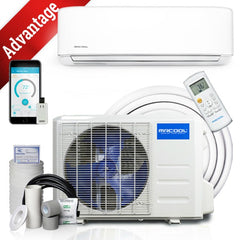 MRCOOL 9k BTU 18 SEER Advantage Ductless Heat Pump Split System 3rd Generation 230V/60Hz