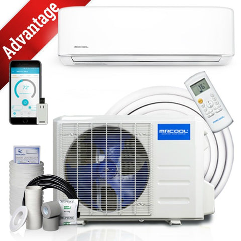 MRCOOL 18k BTU 19 SEER Advantage Ductless Heat Pump Split System 3rd Generation 230V/60Hz- Available Mid October