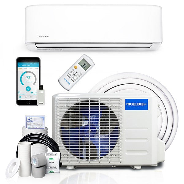 MRCOOL 12k BTU 19 SEER Advantage Ductless Heat Pump Split System 3rd Generation 230V/60Hz