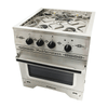 Image of Dickinson Marine Mediterranean Three  Burner Gas Stove - In stock April