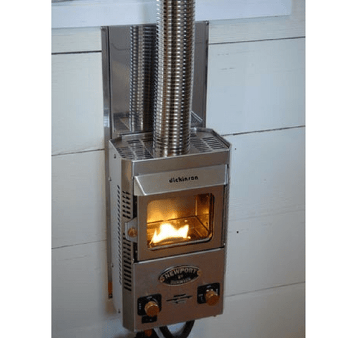Dickinson Marine Newport P9000 Propane Fireplace - IN STOCK LATE JUNE