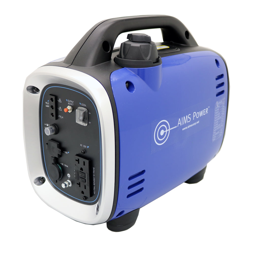 AIMS Power 800 Watt Portable Pure Sine Inverter Generator CARB/EPA Compliant
