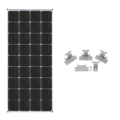 Zamp Solar 170W Deluxe RV Roof Mounted Expansion Kit