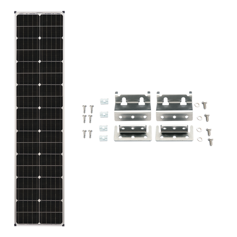Zamp Solar 90W Deluxe Expansion Kit - Long & Narrow Series