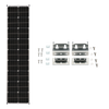 Image of Zamp Solar 90W Deluxe Expansion Kit - Long & Narrow Series