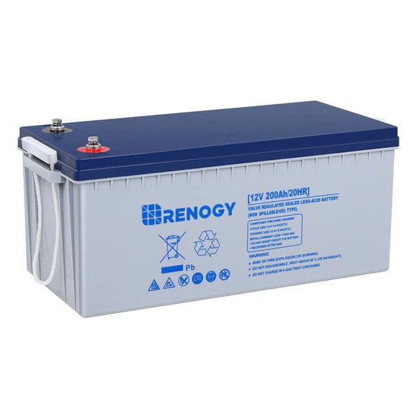 Renogy Deep Cycle Hybrid Gel Battery 12V 200Ah