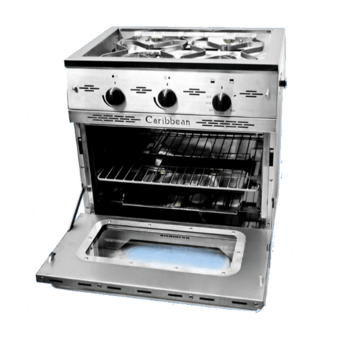 Dickinson Marine Caribbean Two Burner Gas Stove