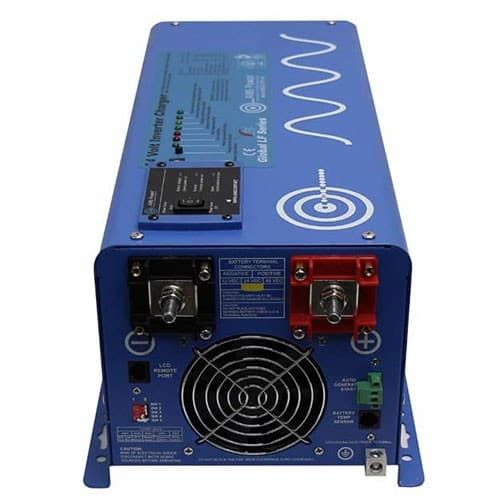 AIMS Power 720 Watt Complete Solar Kit with 3000 Watt Pure Sine Inverter Charger 24 Volt Off-Grid  with Mount Rack - IN STOCK MID MAY
