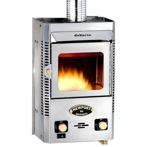 Dickinson Marine Newport P9000 Propane Fireplace - IN STOCK IN MARCH