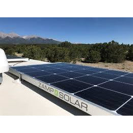 Zamp Solar 170W Deluxe Dual Battery Bank Roof Mounted Solar Kit