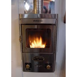 Dickinson Marine Newport P12000 Propane Fireplace - IN STOCK LATE MAY