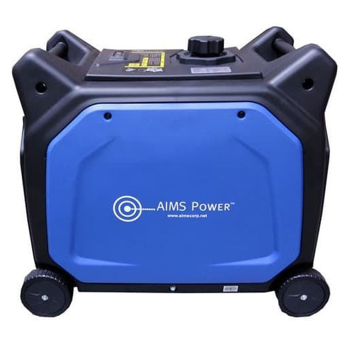 AIMS Power 6600 Watt 120/240V AC Portable Pure Sine Inverter Generator