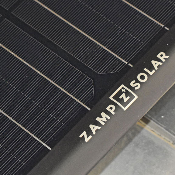 Zamp Solar Obsidian 180 Watt 9.4 Amp Long & Narrow Solar Panel Kit