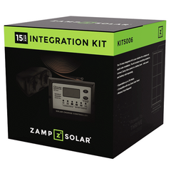 Zamp Solar Obsidian Series 15 Amp Integration Kit