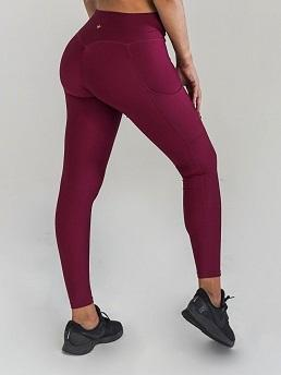 Obsession Pocket Leggings | CRANBERRY Leggings Obsession Shapewear